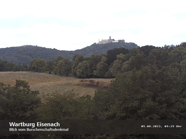 Webcam Wartburg bei Eisenach zeigen