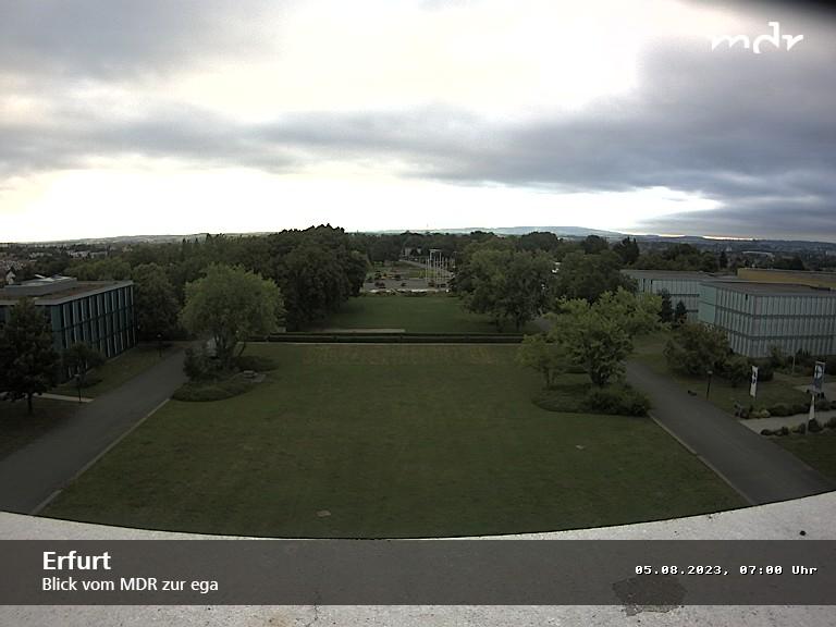 zur Webcam Erfurt (egapark) - www.mdr.de/thueringen