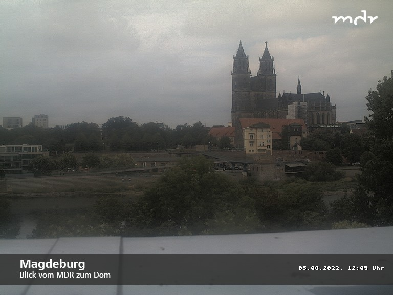Webcam Magdeburg on River Elbe Live webcamera