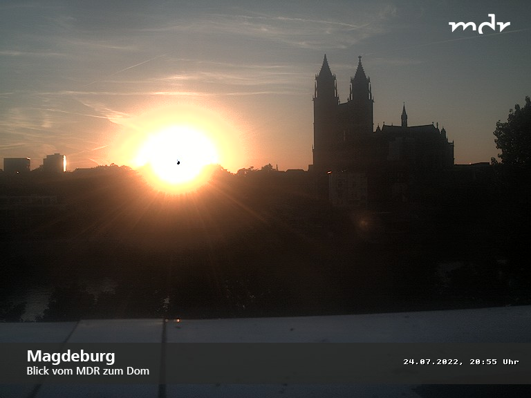 Webcam Magdeburg on River Elbe