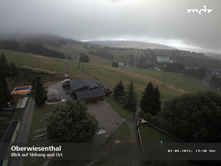 Webcam Skigebiet Oberwiesenthal Skihang - Erzgebirge
