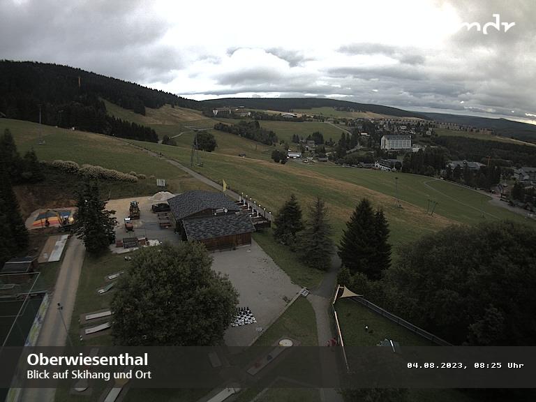 Webcam Skigebied Oberwiesenthal Skihang - Ertsgebergte