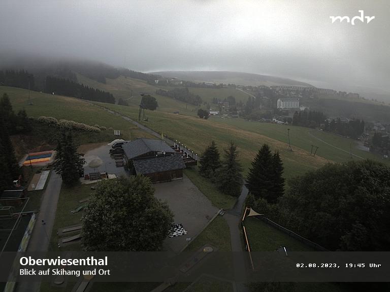 Webcam Ski Resort Oberwiesenthal Skihang - Ore Mountains