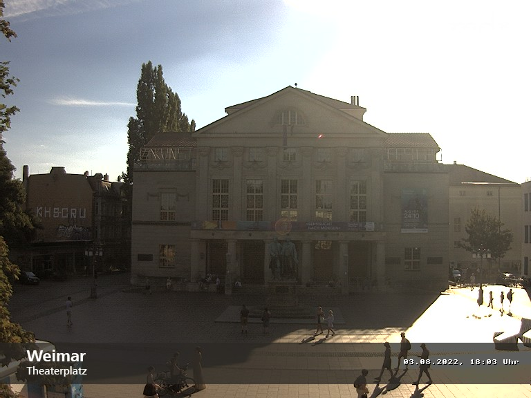zur Webcam Weimar (Theater) - www.mdr.de/thueringen