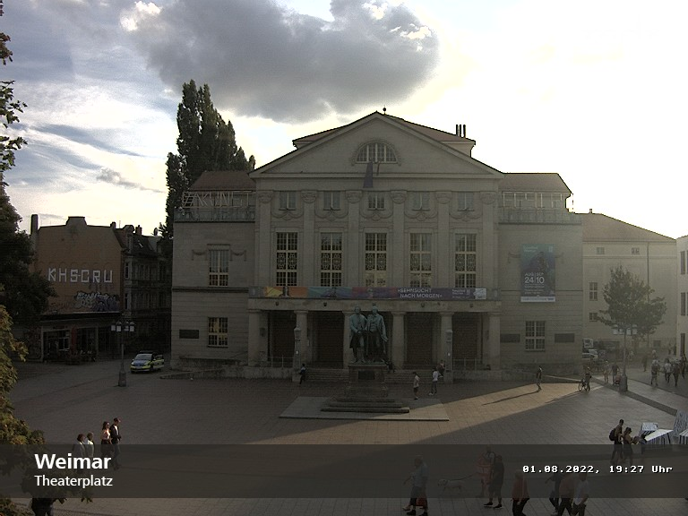 Webcam Weimar (Theater) zeigen
